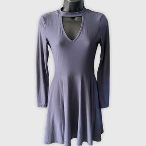 🤍3/$30 No Boundaries Chocker Fit & Flare Dress XS
